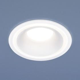 Фото 1/8 7012 MR16 / Светильник встраиваемый WH белый