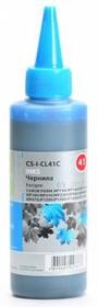 Чернила CACTUS CS-I-CL41С, для Canon, 100мл, голубой [cs-i-cl41c]