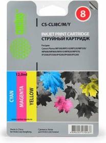 Набор картриджей CACTUS СS-CLI8C/M/Y голубой / пурпурный / желтый