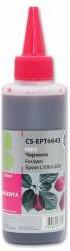 Чернила CACTUS CS-EPT6643, для Epson, 100мл, пурпурный
