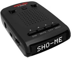 Радар-детектор SHO-ME G-900 STR white, черный