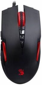 Мышь A4 Bloody V2M оптическая проводная USB, черный и красный