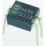 Фото 3/4 IRFD024PBF, Транзистор, MOSFET, N-канал, 60В, 2.5А [HVMDIP]