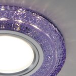 Фото 6/6 2225 MR16 / Светильник встраиваемый PU фиолетовый