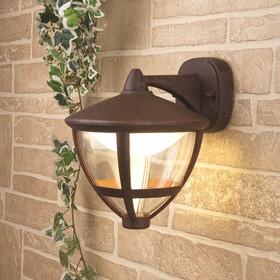 Фото 1/5 GL LED 3001D / Светильник садово-парковый со светодиодами Gala D брауни (GL LED 3001D)