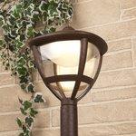Фото 4/7 GL LED 3001F / Светильник садово-парковый со светодиодами Gala F брауни (GL LED 3001F)