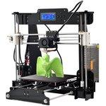 Фото 2/2 A8 3D Printer DIY KIT, 3D принтер, с дисплеем, с подогреваемой платформой