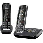 Р/Телефон Dect Gigaset C530A DUO черный (труб ...