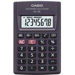 Калькулятор карманный Casio HL-4A черный 8-разр.