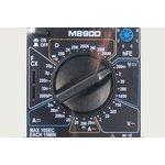 Фото 2/2 Портативный цифровой мультиметр с силиконовым чехлом M890D, приб мультиметр\цифр\ M890D\\DIGITAL