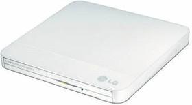 Оптический привод DVD-RW LG GP50NW41, внешний, USB, белый, Ret