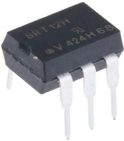 Фото 1/2 BRT12H, Оптоизолятор 5.3кВ, симисторная оптопара, 600В [DIP-6]