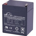 DJW12-5.4(F1), Аккумулятор свинцовый 12В-5.4Ач 90x70x107