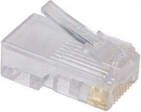 5-554169-3, Вилка сетевая TP8P8C (RJ45) CAT.3 для многожильного провода (OBSOLETE)