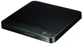 Оптический привод DVD-RW LG GP50NB41, внешний, USB, черный, Ret