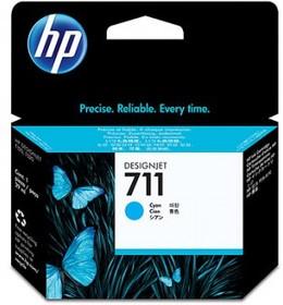 Картридж HP №711 CZ130A, голубой