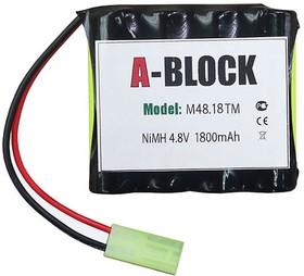 A-BLOCK M48.18TM, Аккумуляторная сборка NiMh 4.8В 1800mAh