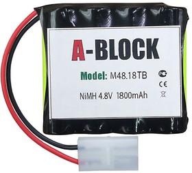A-BLOCK M48.18TB, Аккумуляторная сборка NiMh 4.8В 1800mAh