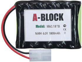 A-BLOCK M60.18TB, Аккумуляторная сборка NiMh 6.0В 1800mAh