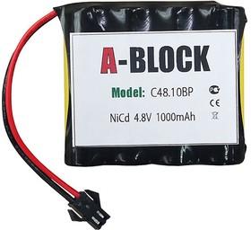 A-BLOCK C48.10BP, Аккумуляторная сборка NiCd 4.8V 1000mAh