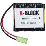 A-BLOCK C48.10TM, Аккумуляторная сборка NiCd 4.8V 1000mAh