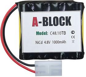 A-BLOCK C48.10TB, Аккумуляторная сборка NiCd 4.8V 1000mAh