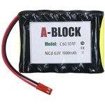 A-BLOCK C60.10RP, Аккумуляторная сборка NiCd 6.0V 1000mAh