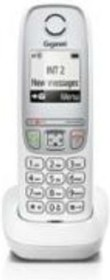 Фото 1/2 Р/Телефон Dect Gigaset A415 белый АОН