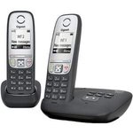 Р/Телефон Dect Gigaset A415A Duo черный (труб ...