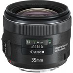 Объектив Canon EF IS USM (5178B005) 35мм f/2 черный