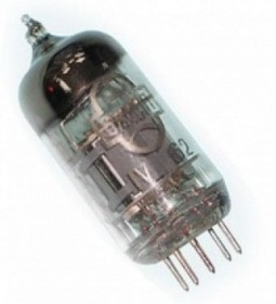 Радиолампа 6Ж20П, высокочастотный пентод с короткой характеристикой