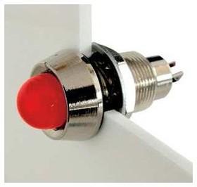 514-111-75, PANEL MOUNT INDICATOR, LED, 12.7MM, YELLOW, 110V