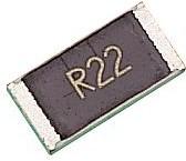 4-1622825-5, Токочувствительный резистор SMD, 0.22 Ом, RL73 Series, 2512 [6432 Метрический], 1 Вт, ± 5%