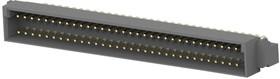 Фото 1/3 5650951-5, Разъем DIN 41612, Eurocard Type C Series, 64 контакт(-ов), Штыревой Разъем, 2.54 мм, 2 ряда, a + c