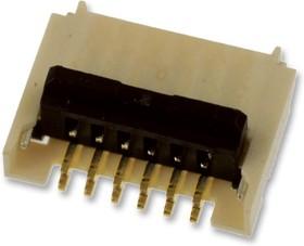 503480-1800, FFC / FPC разъем, 0.5 мм, 18 контакт(-ов), Гнездо, Easy-On 503480 Series, Поверхностный Монтаж