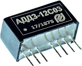 АДД3-12С12, DC/DC преобразователь, вх.9-18В, вых. 12В, 0.25А
