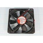 Вентилятор постоянного тока 12 Вольт, 120x120x25мм, подшипник скольжения ...