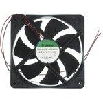 Вентилятор постоянного тока 24 Вольта, шариковый подшипник, 3100об/мин ...
