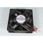 Вентилятор постоянного тока 12 Вольт, шариковый подшипник, 2400об/мин ...
