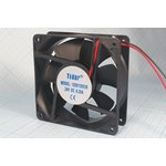 Вентилятор постоянного тока 24 Вольта, подшипник скольжения, 2300об/мин ...