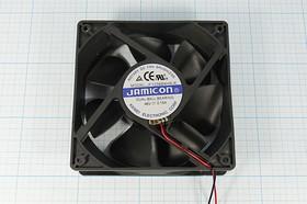 Фото 1/5 Вентилятор постоянного тока 48 Вольт, шариковый подшипник, 2800об/мин, ВН004B вент 120x120x38\ 48В\0,15А\2L\ ШП\JF1238B4HR-R