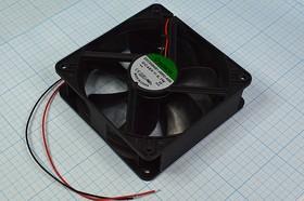 Фото 1/5 Вентилятор постоянного тока 48 Вольт, шариковый подшипник, 3100об/мин, ВН221B вент 120x120x38\ 48В\9Вт\2L\ШП\ EEC0384B1-000U-A99