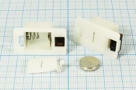 Фото 1/2 Батарейный отсек для 3-x элементов 389А(AG10) или 2-х 357A(AG13), 14116 бат держ LR1130x3\закр\ON- OFF\2C\AG10-3/AG13-2\