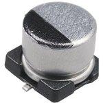 Фото 2/2 ECAP SMD, 100 мкФ, 10В, Конденсатор электролитический алюминиевый SMD