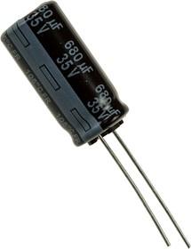 (К50-35) 680мкф 35В 105гр, 10х20 10000ч low ESR, EEUFR1V681
