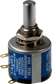 534B1202JC, потенциометр 2кОм, 0,25%, 2 Вт, d22.2мм