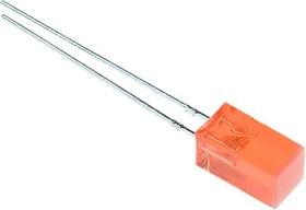 L-1553IDT, светодиод красн. 5х5мм 8мКд