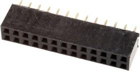 PBD-26, гнездо на плату шаг 2.54мм 2x13 прям