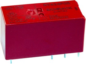 RT424F05, Реле 5VDC 2пер. 8A/250VAC бистабильное 2 кат.