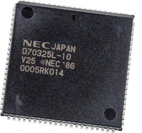 D70325L-10 NEC 68 pol PLCC CMOS C-IC PLCC